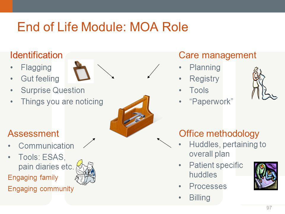 End of Life Module: MOA Role