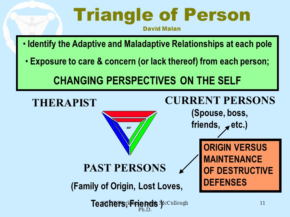 Triangle of Person David Malan