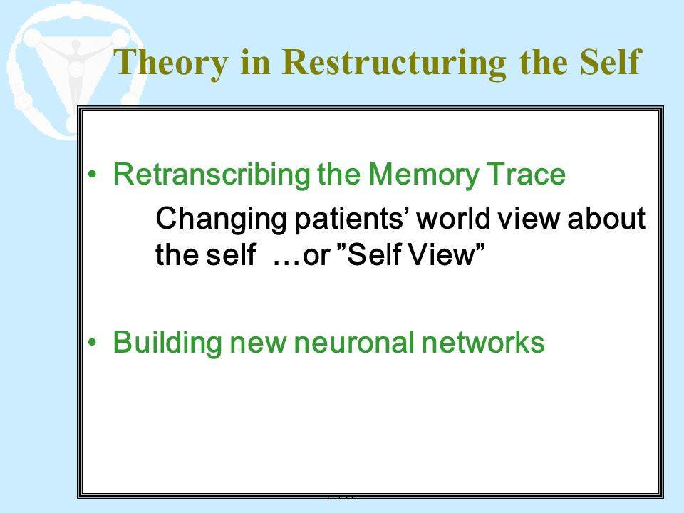 Theory in Restructuring the Self