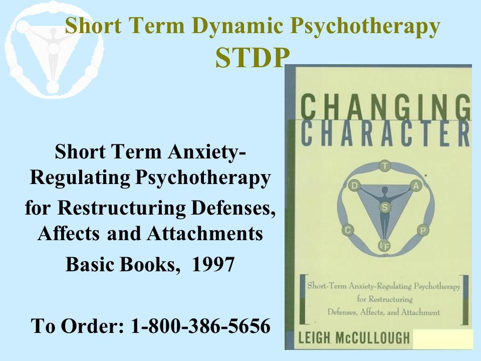 Short Term Dynamic Psychotherapy STDP