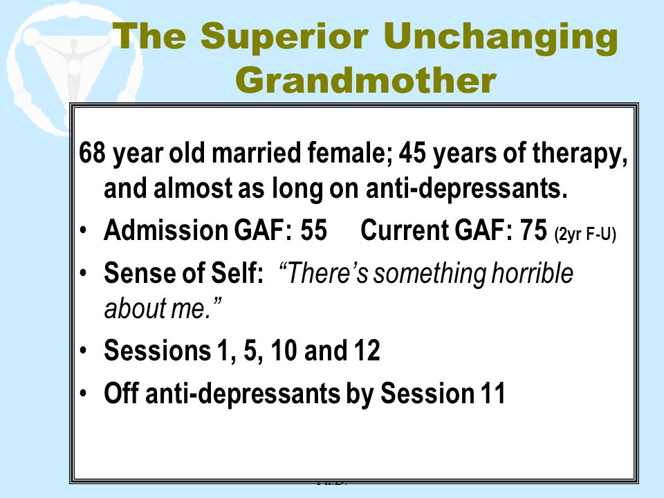 The Superior Unchanging Grandmother
