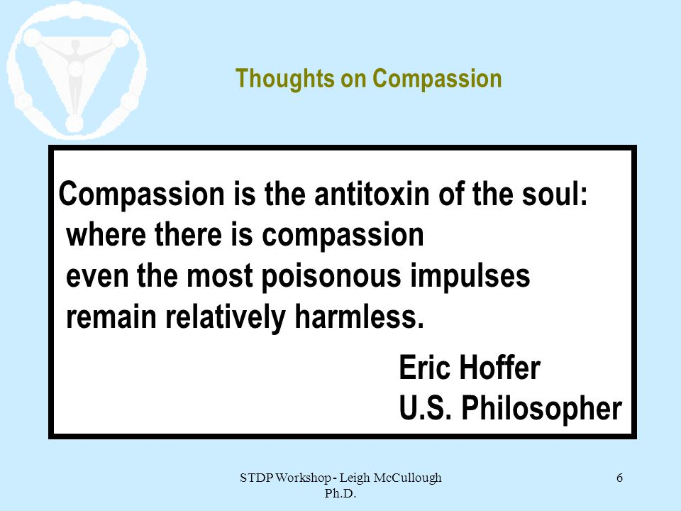 Thoughts on Compassion