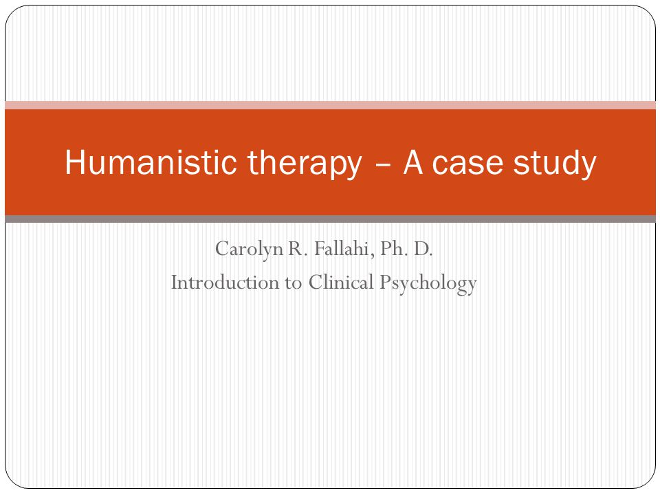 Case study writers psychology pdf