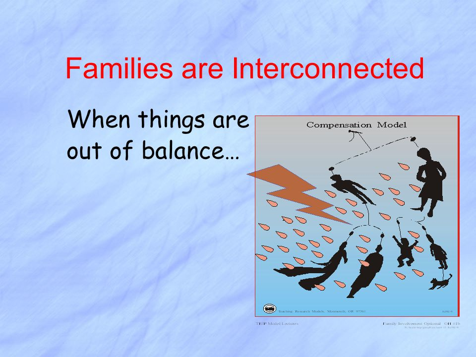 Families are Interconnected