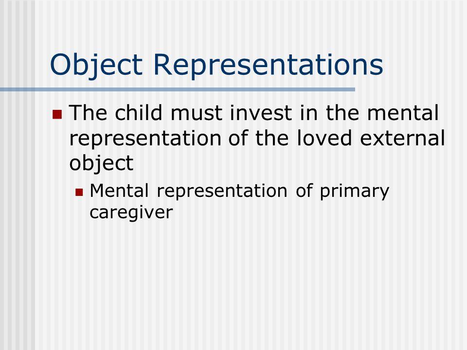 Object Representations
