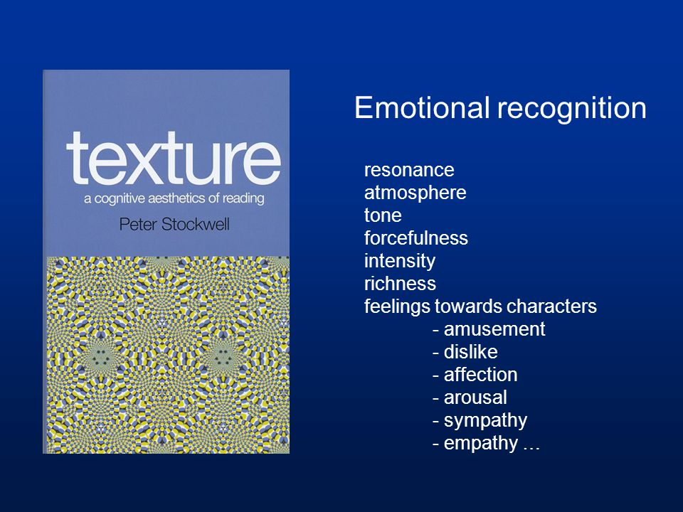 Emotional recognition