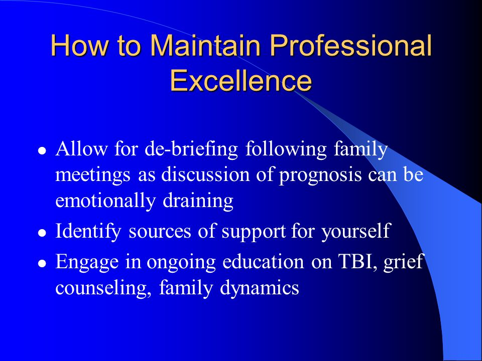 How to Maintain Professional Excellence