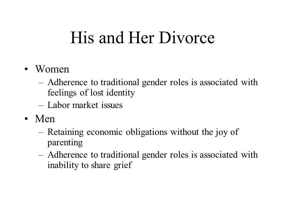 His and Her Divorce Women Men