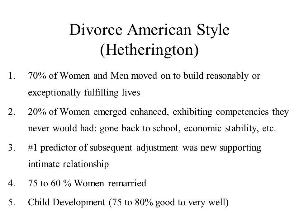 Divorce American Style (Hetherington)