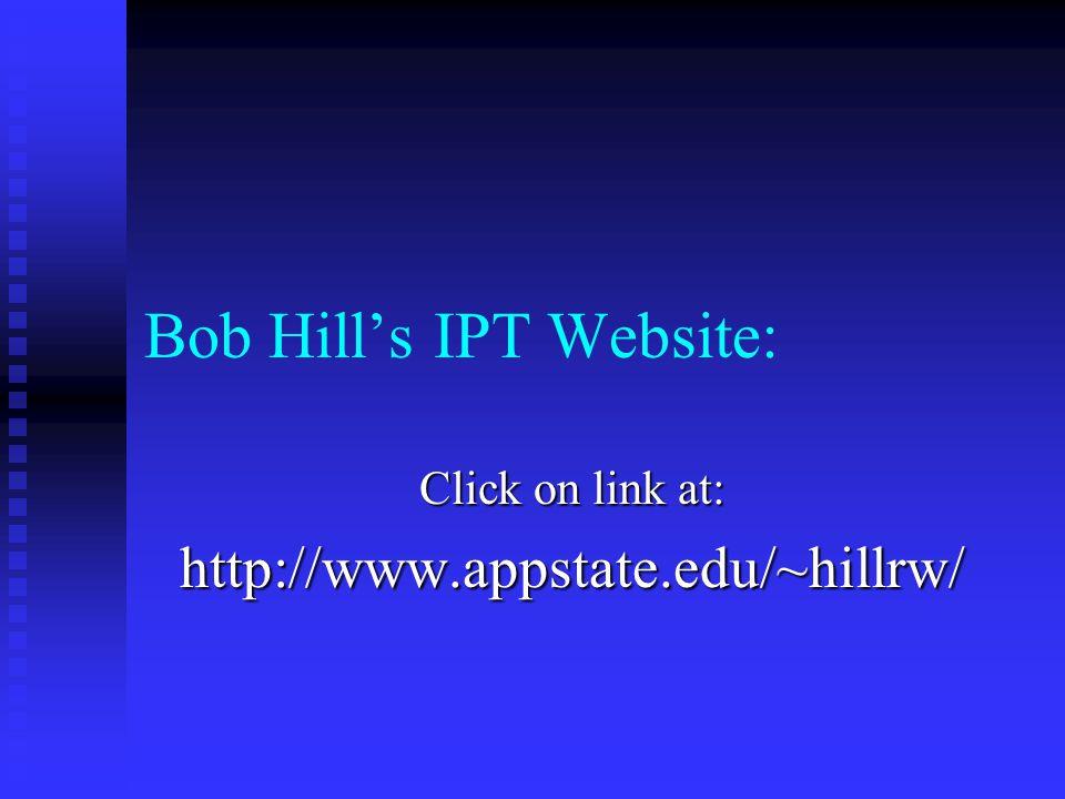 Bob Hill's IPT Website: