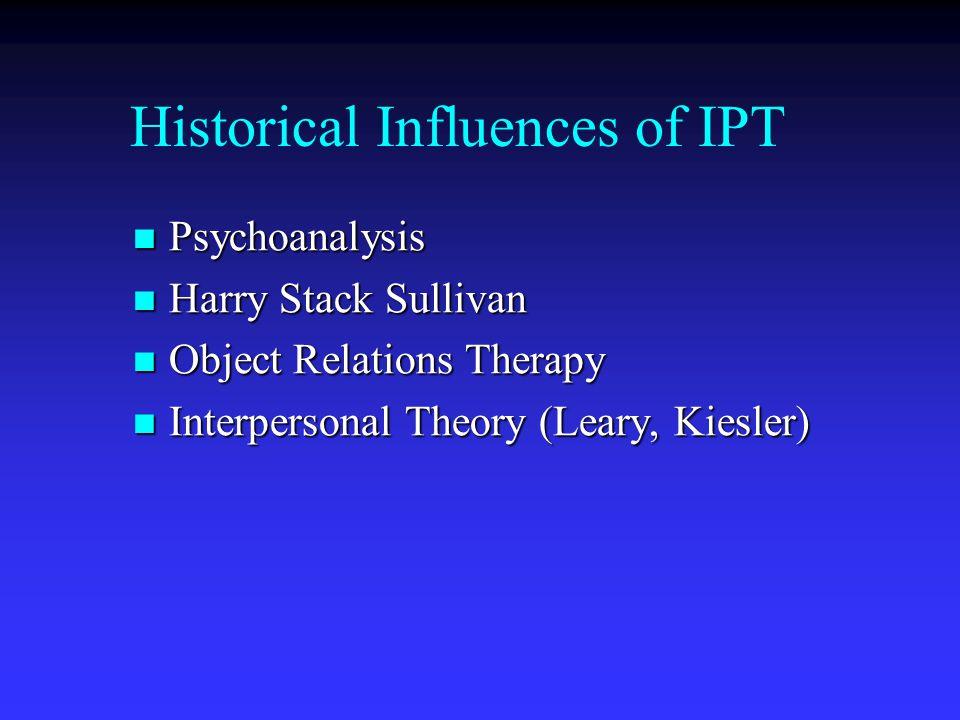 Historical Influences of IPT