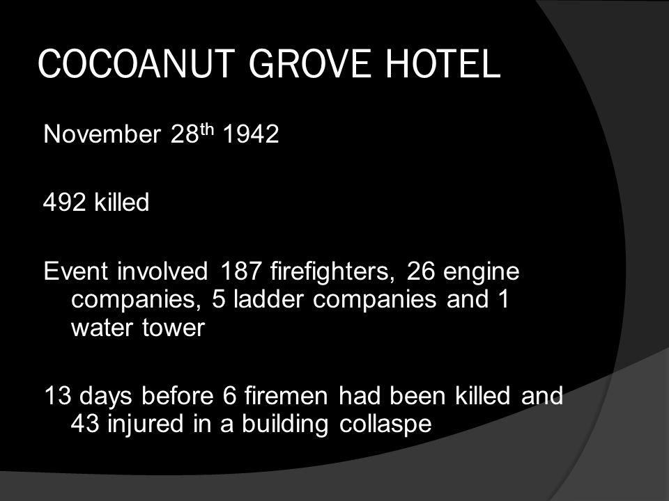 COCOANUT GROVE HOTEL