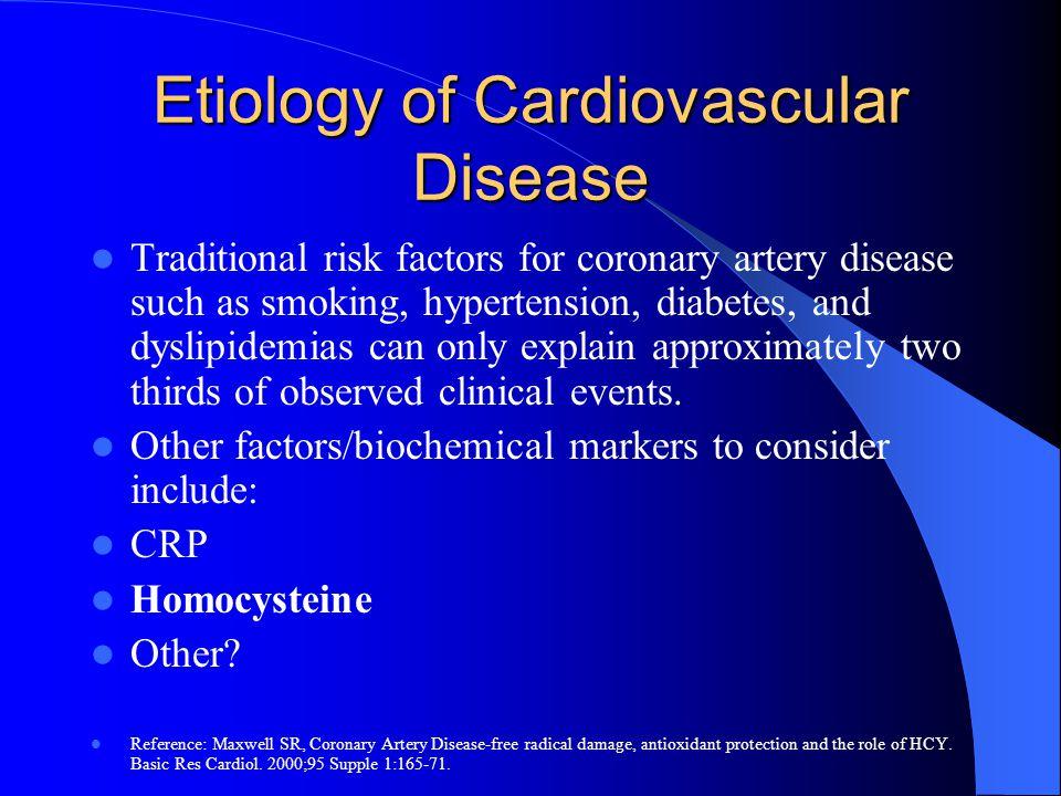 Etiology of Cardiovascular Disease