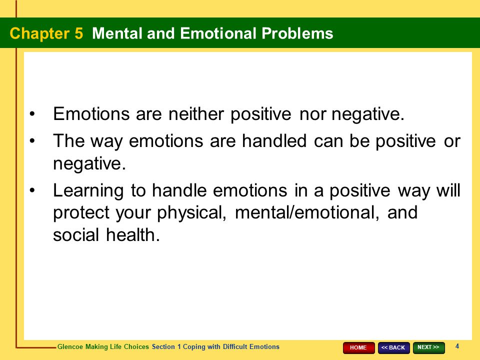 Emotions are neither positive nor negative.
