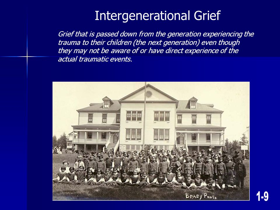 Intergenerational Grief