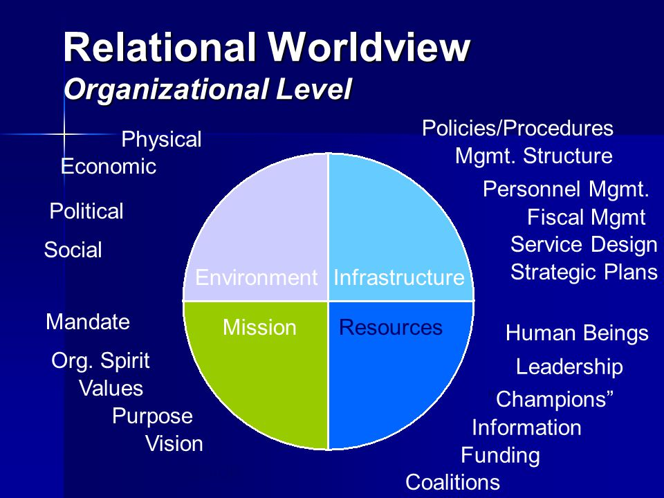 Relational Worldview Organizational Level