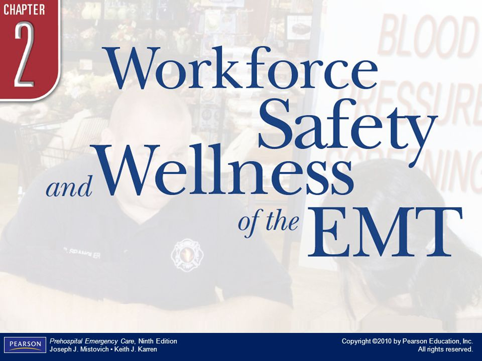 Workforce Safety and Wellness of the EMT