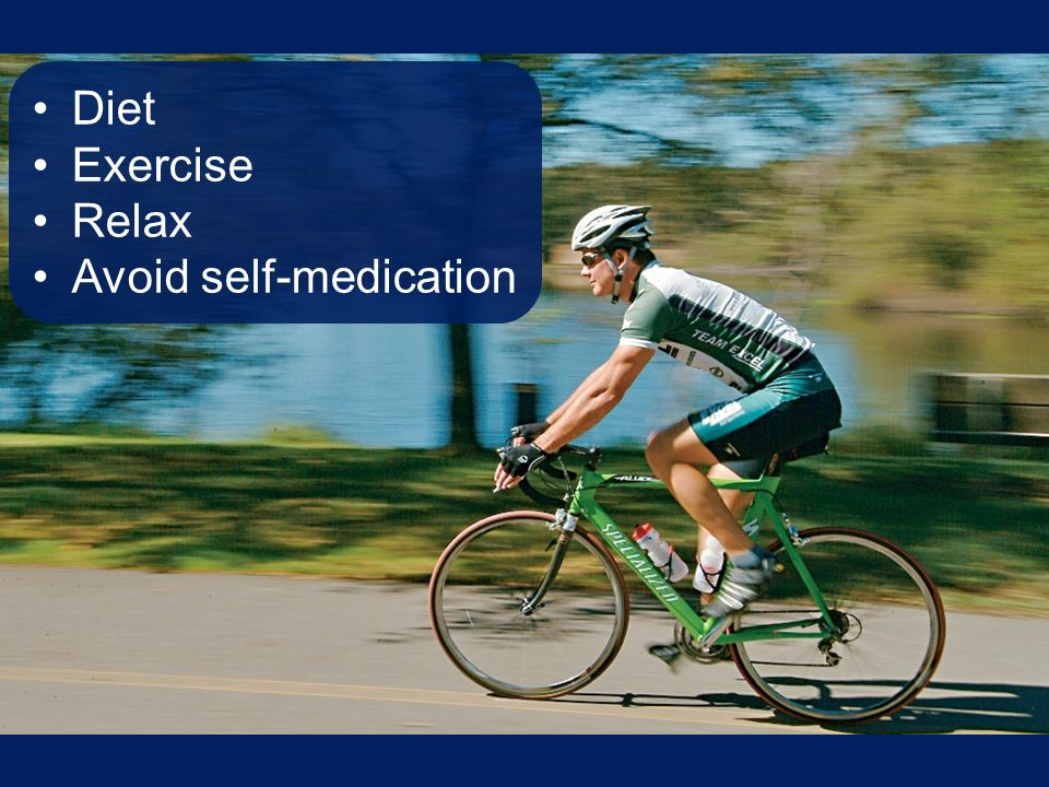 Avoid self-medication