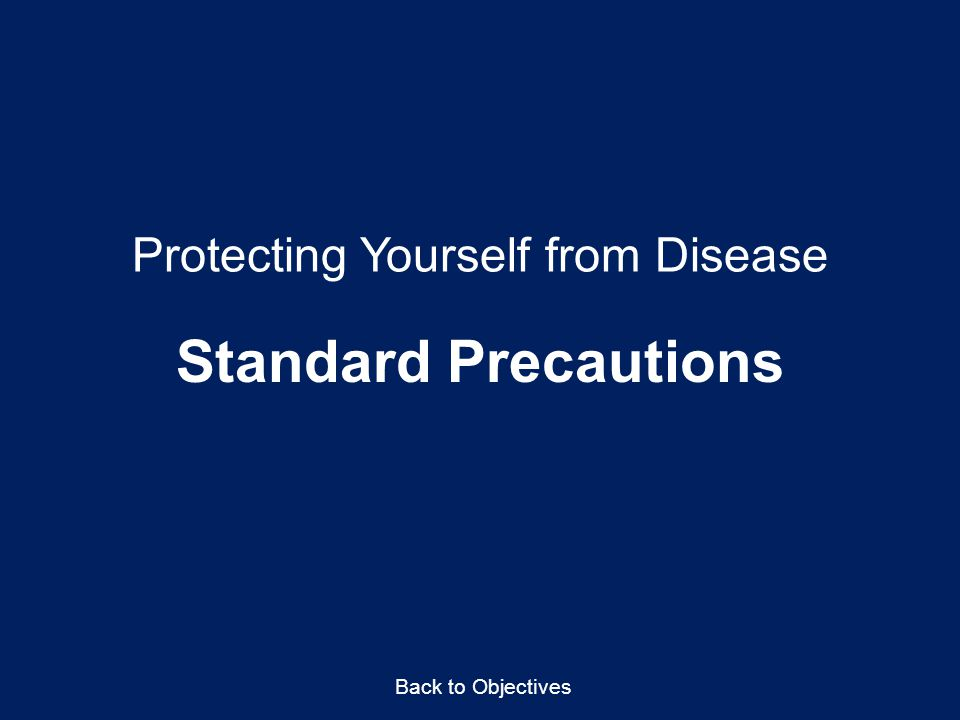 Protecting Yourself from Disease