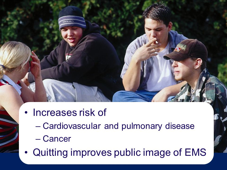 Quitting improves public image of EMS