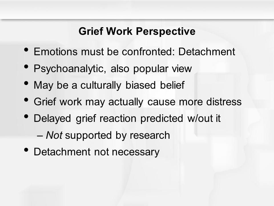 Grief Work Perspective