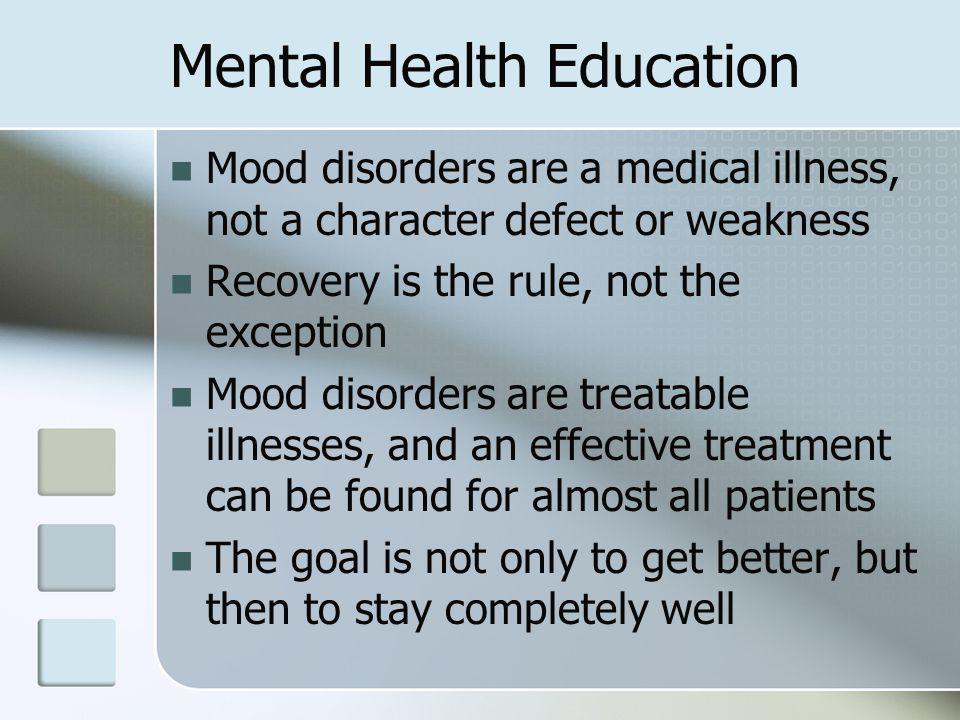 Mental Health Education