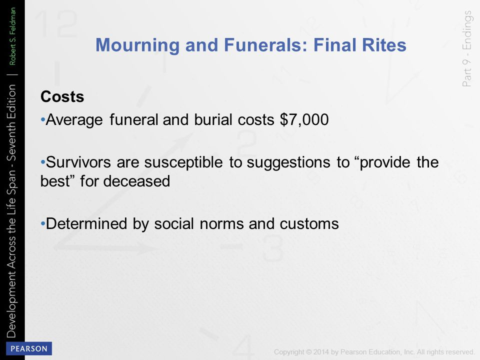 Mourning and Funerals: Final Rites