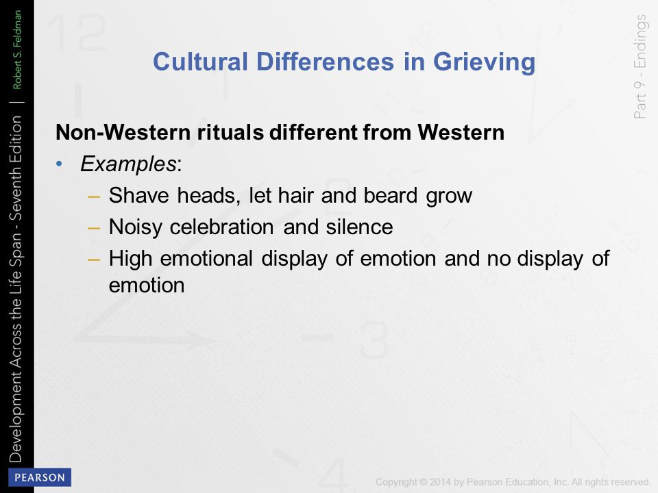 Cultural Differences in Grieving
