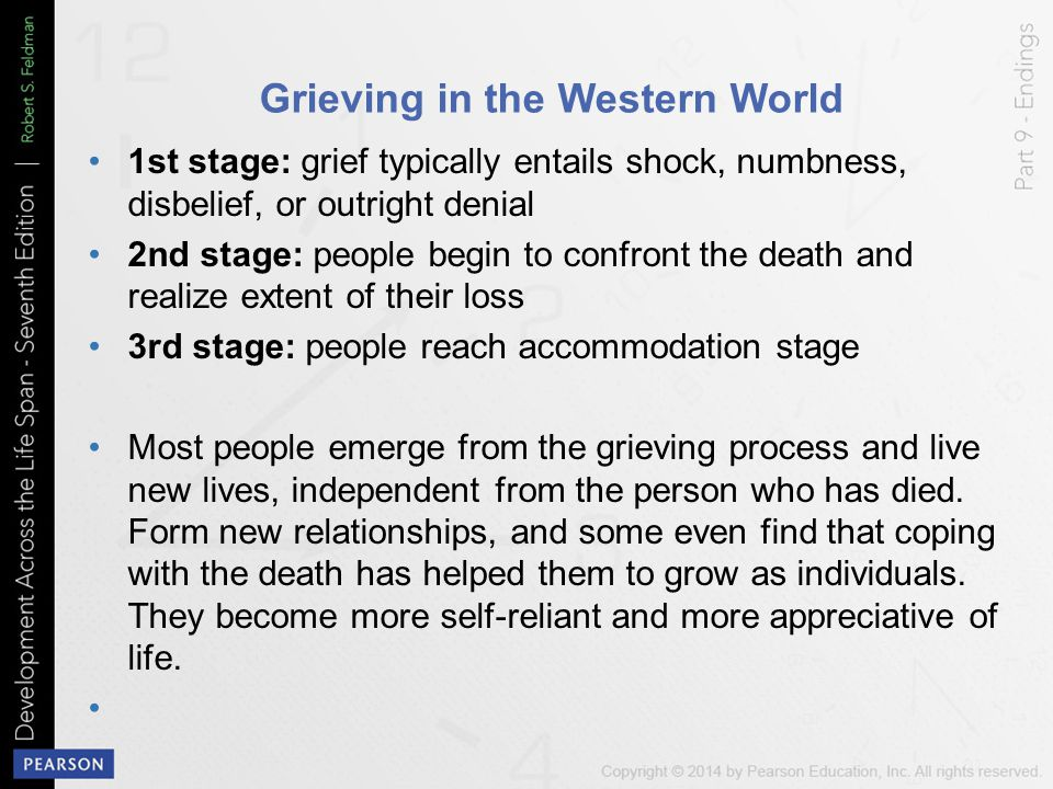 Grieving in the Western World