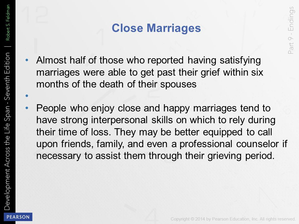Close Marriages