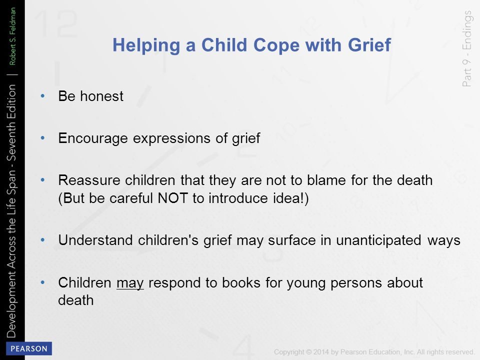 Helping a Child Cope with Grief