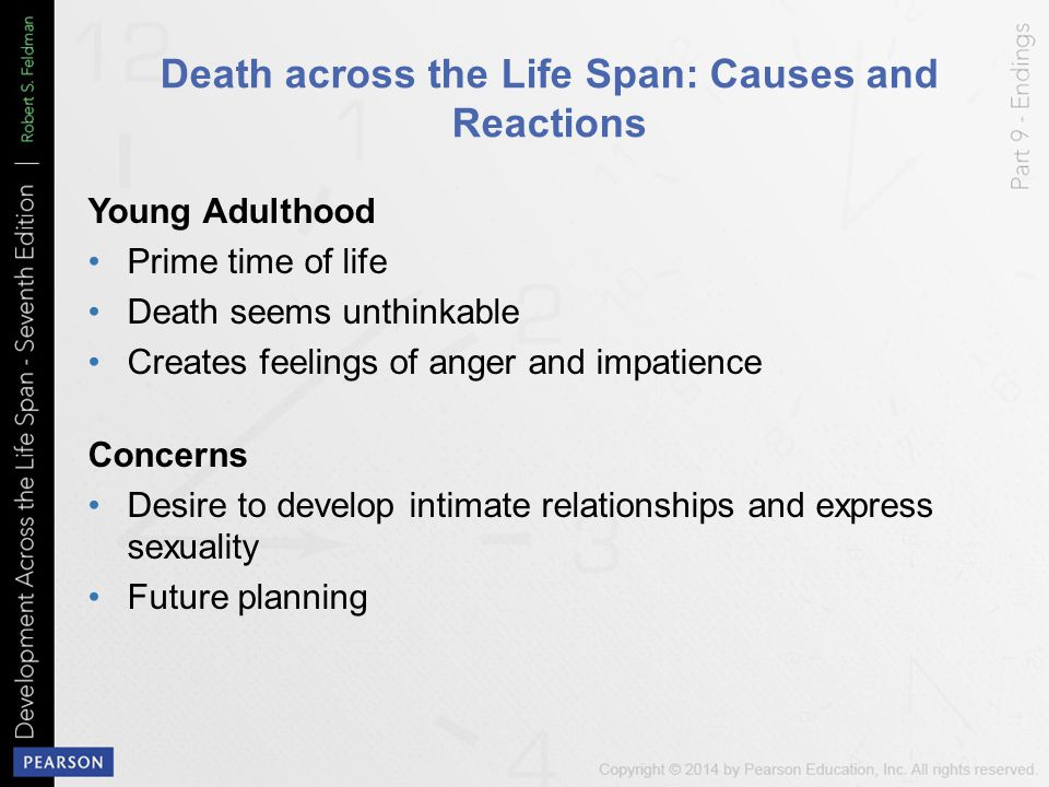 Death across the Life Span: Causes and Reactions