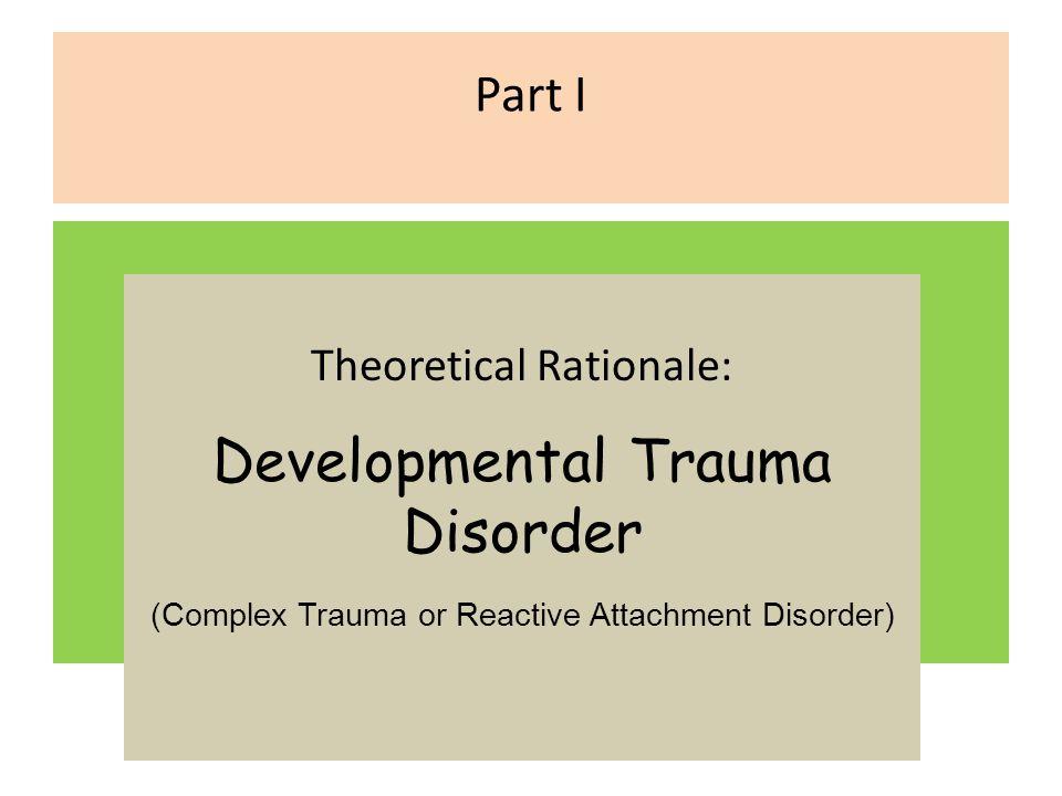 Developmental Trauma Disorder