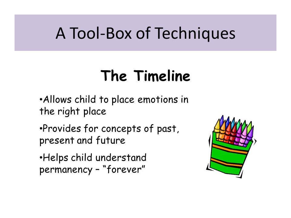 A Tool-Box of Techniques