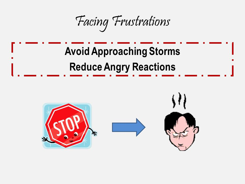 Avoid Approaching Storms Reduce Angry Reactions