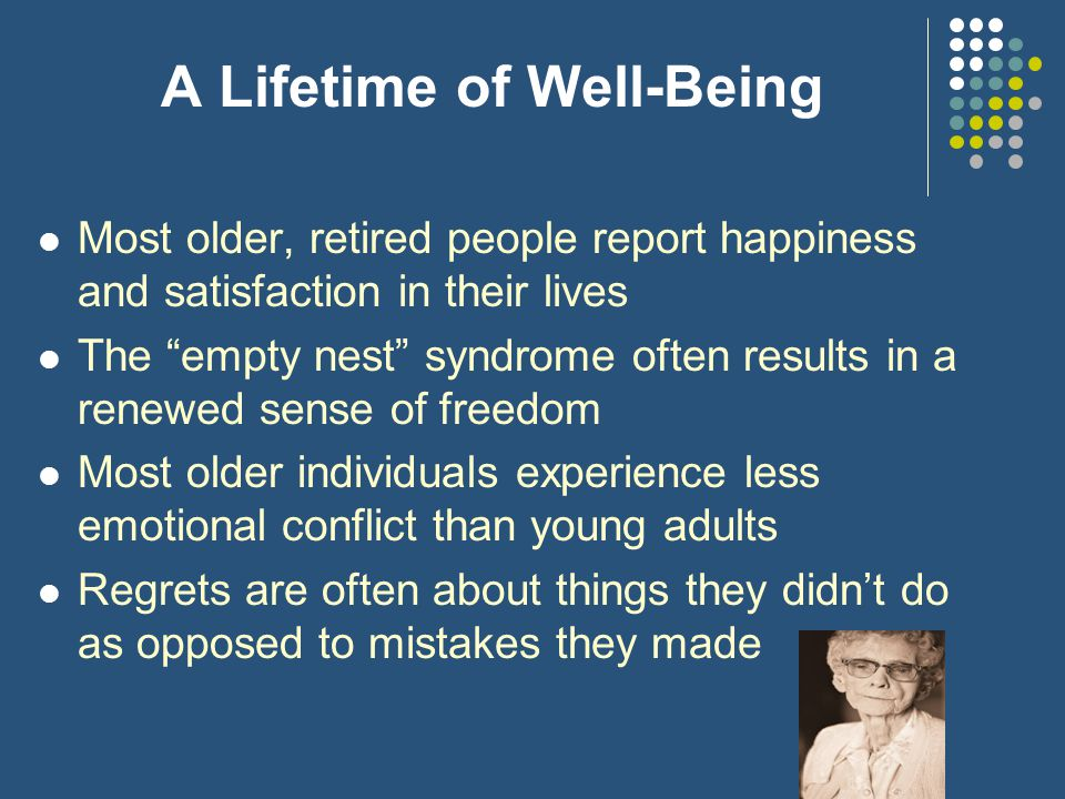 A Lifetime of Well-Being