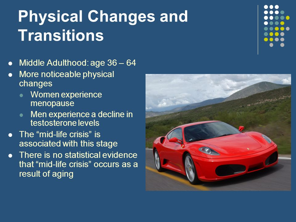 Physical Changes and Transitions