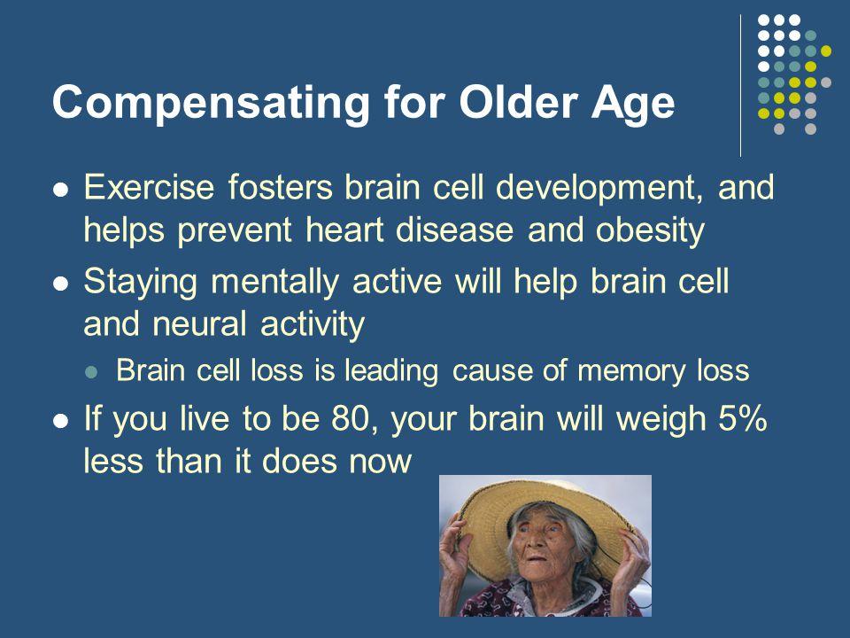 Compensating for Older Age