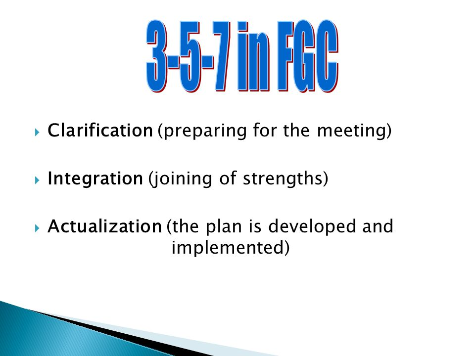 3-5-7 in FGC Clarification (preparing for the meeting)
