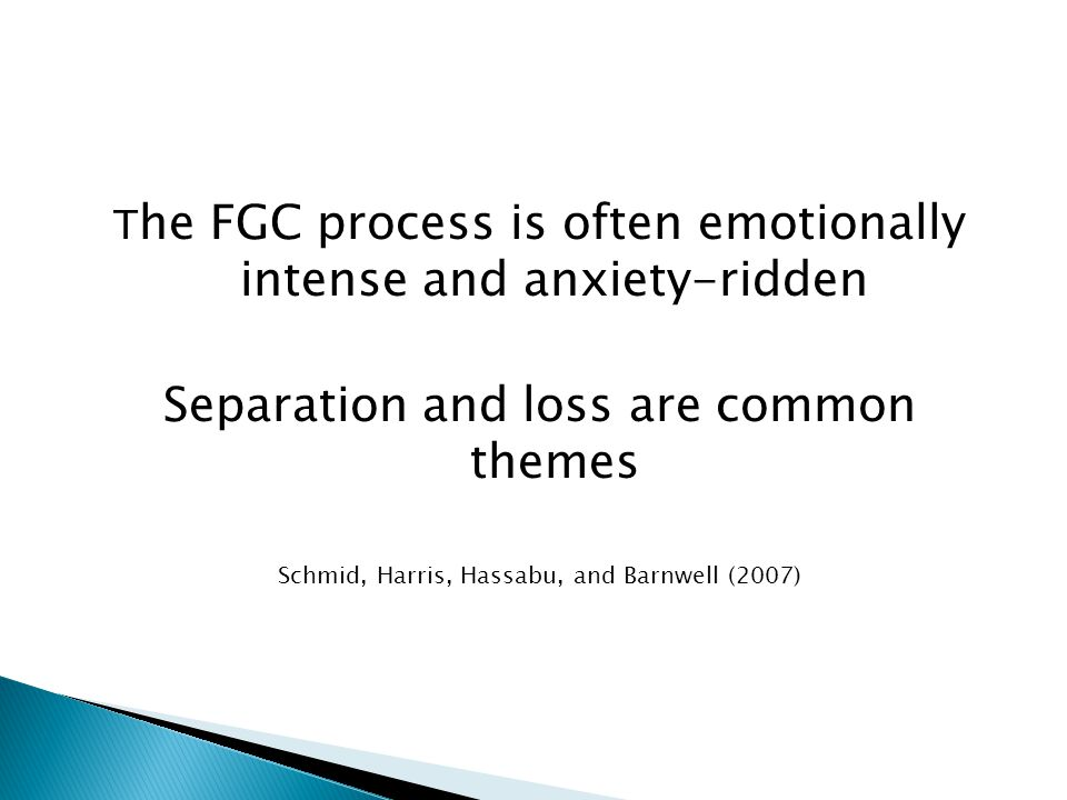 Separation and loss are common themes