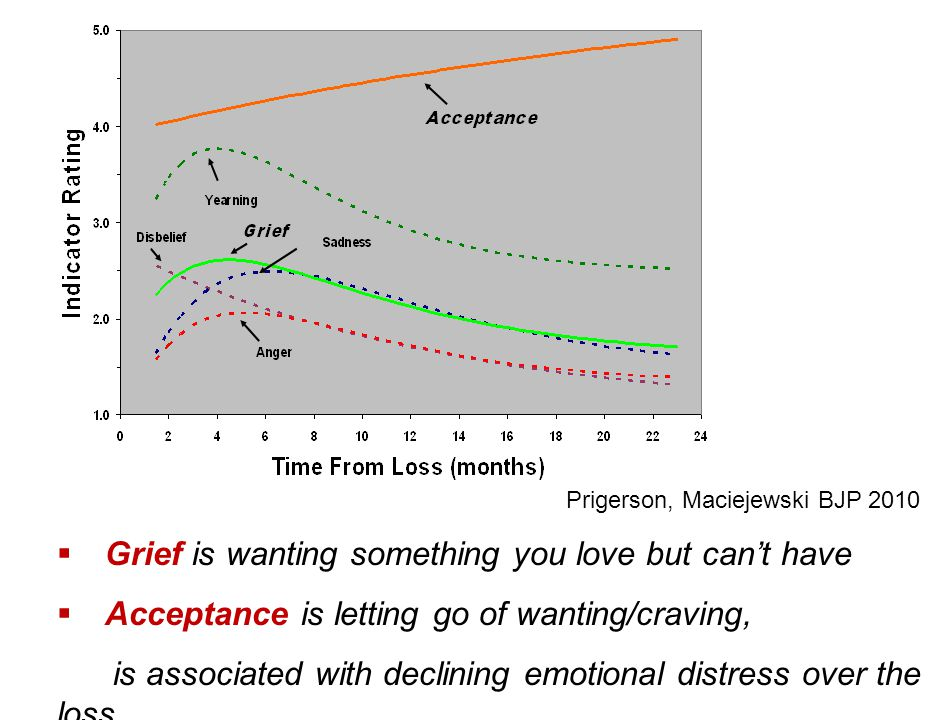 Grief is wanting something you love but can't have
