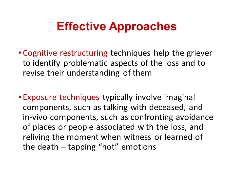Effective Approaches