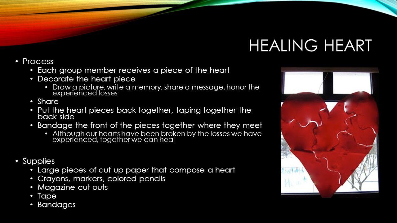 Healing Heart Process Supplies