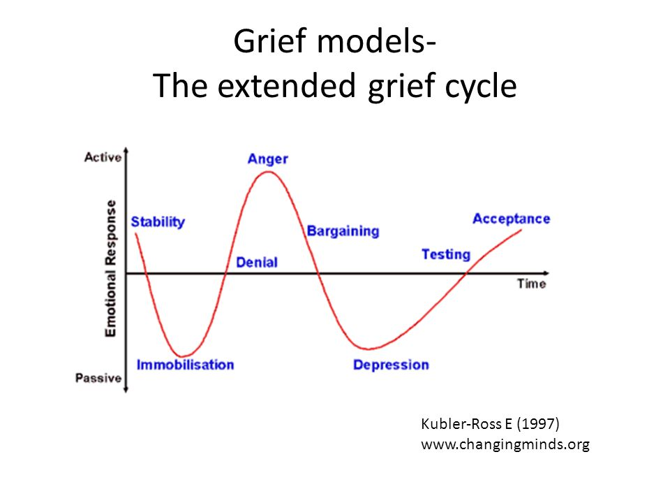 Grief models- The extended grief cycle