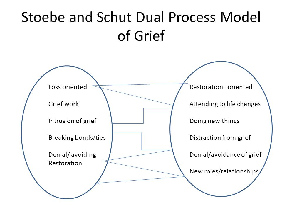 Stoebe and Schut Dual Process Model of Grief