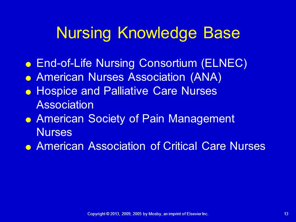 Nursing Knowledge Base