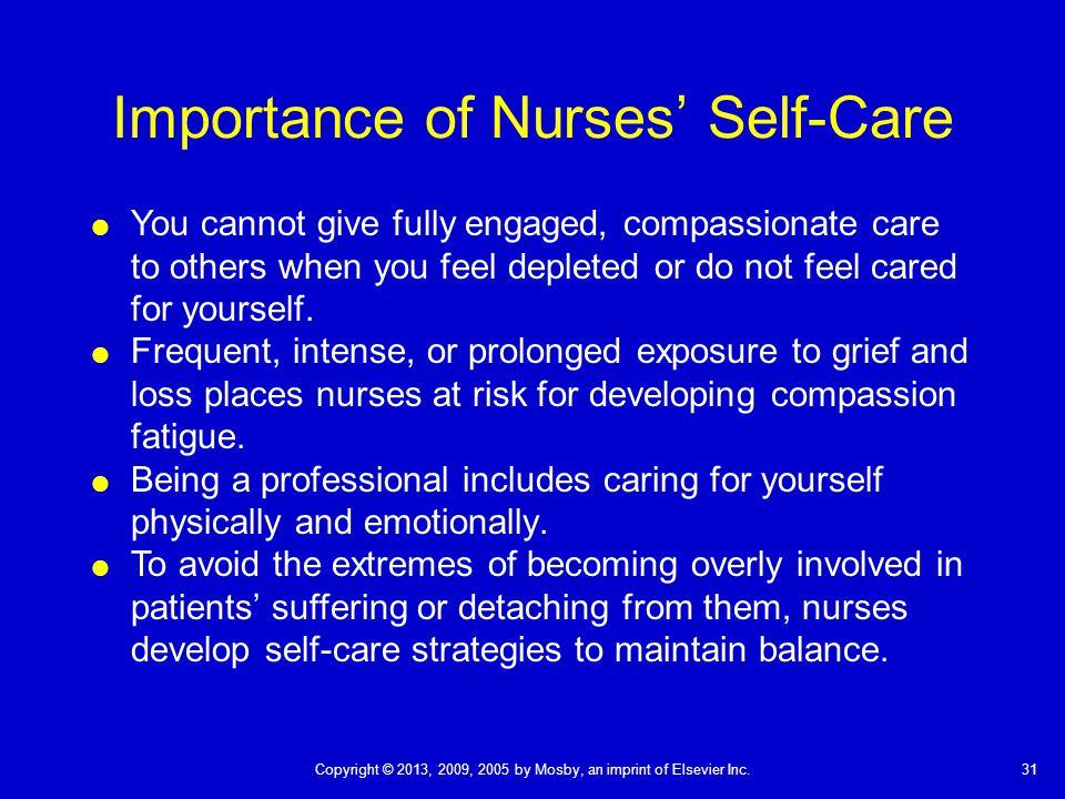 Importance of Nurses' Self-Care