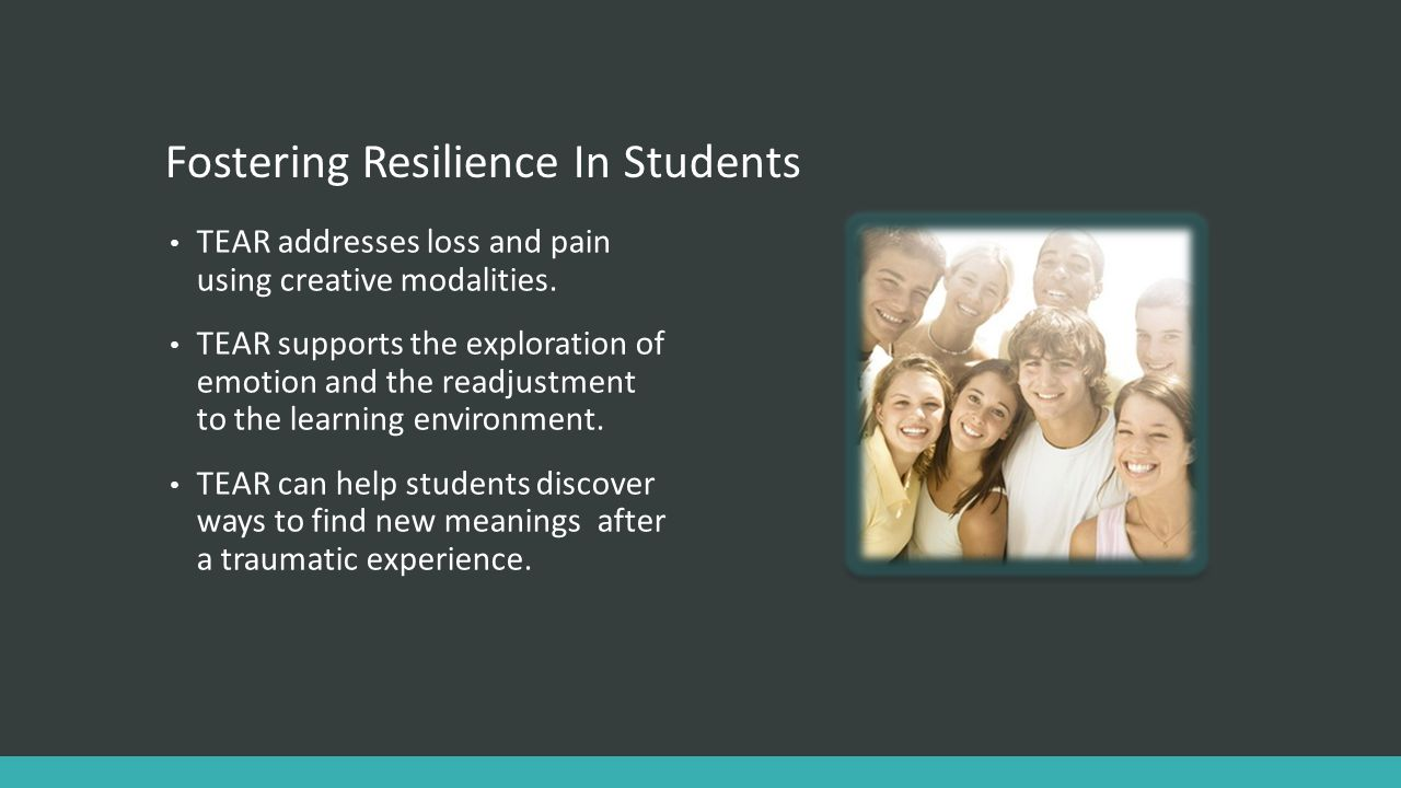 Fostering Resilience In Students