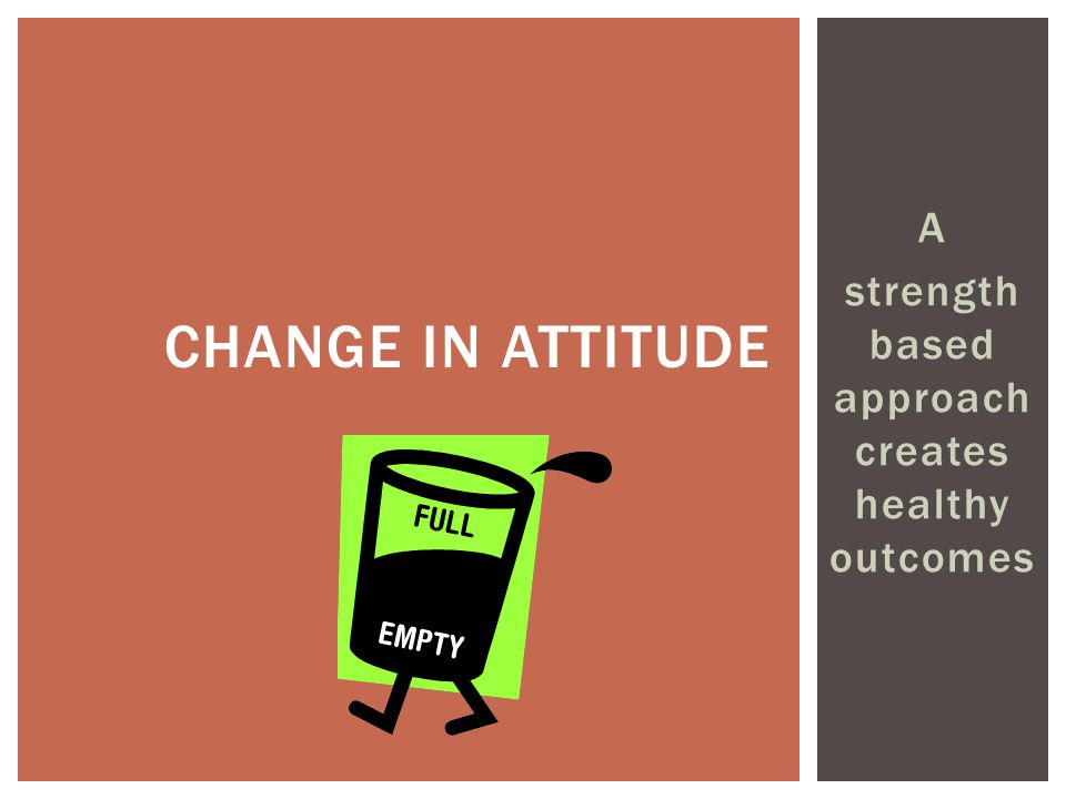 strength based approach creates healthy outcomes