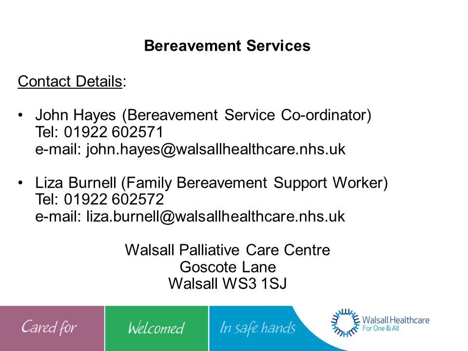 Walsall Palliative Care Centre